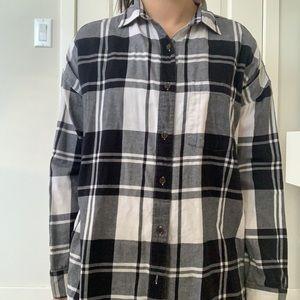 Black flannel